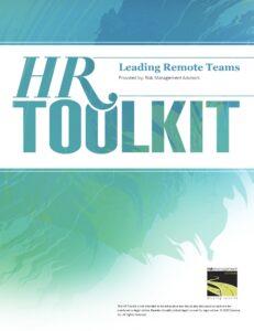 HR Toolkit - Leading Remote Teams