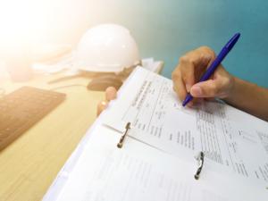 Construction checklist image